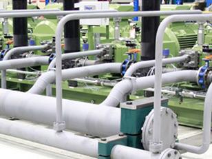 Hydraulisches Installationsprojekt