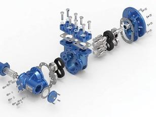 Reparatur/Wartung und Revision der Pumpe